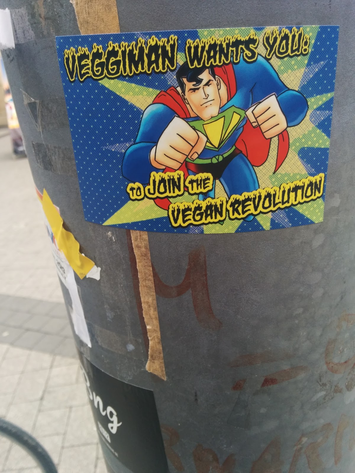 Veggiman Wants You