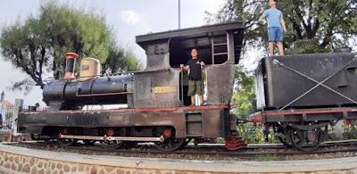 wisata museum transportasi kereta api lawang sewu semarang nurul sufitri mom lifestyle blogger traveling culinary review