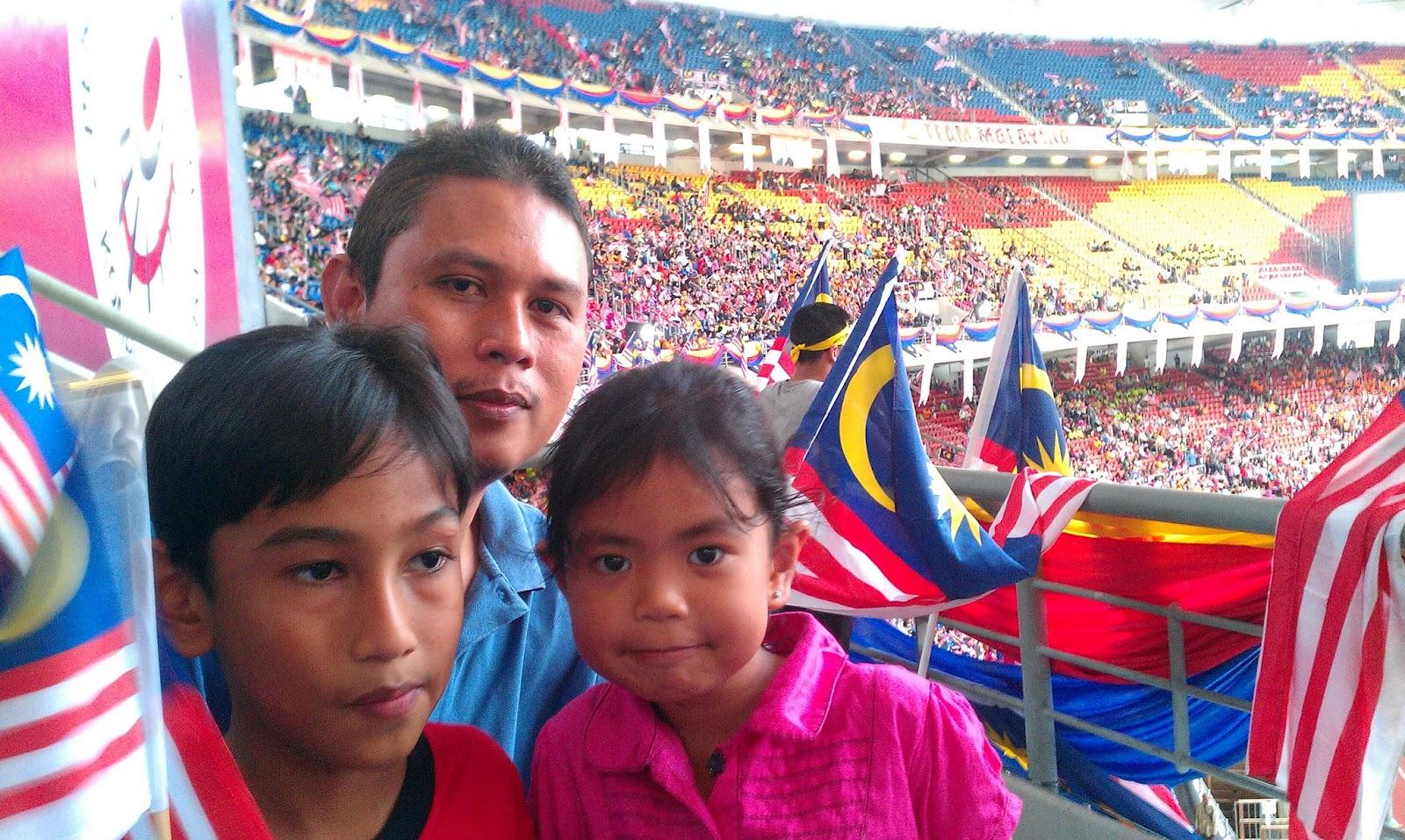 Sambutan Merdeka Di Stadium Bukit Jalil tahun 2012