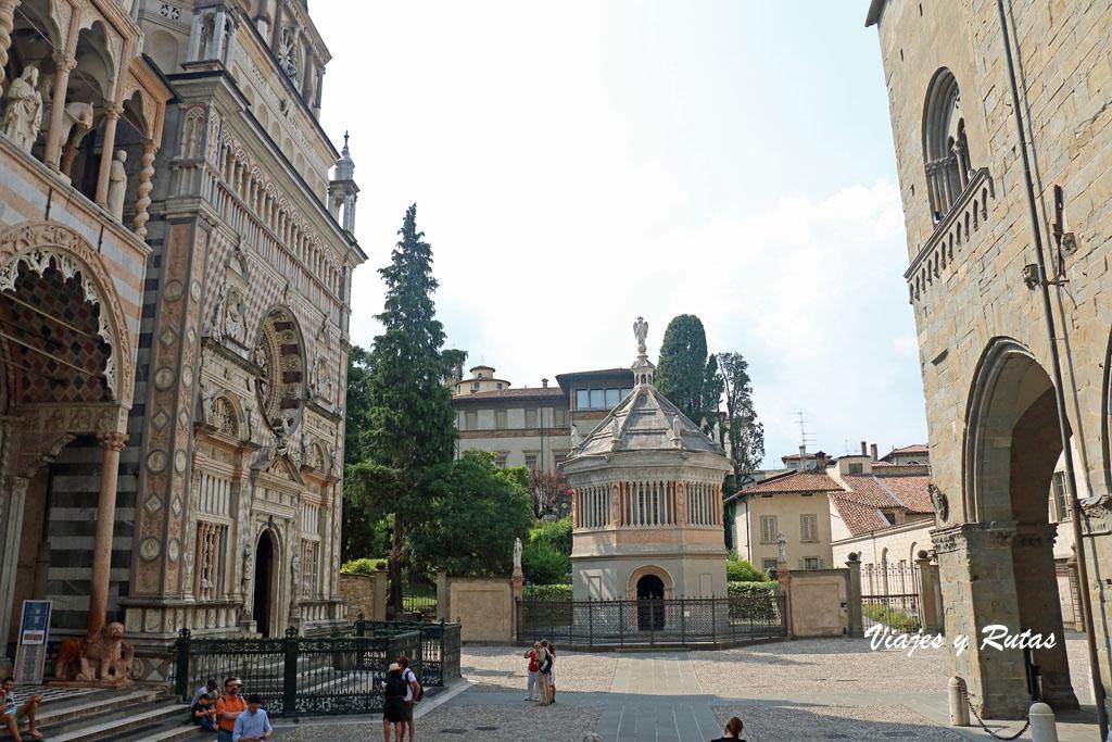 Capilla Colleoni y baptisterio de Bergamo