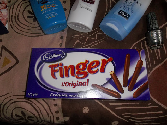 finger cadbury