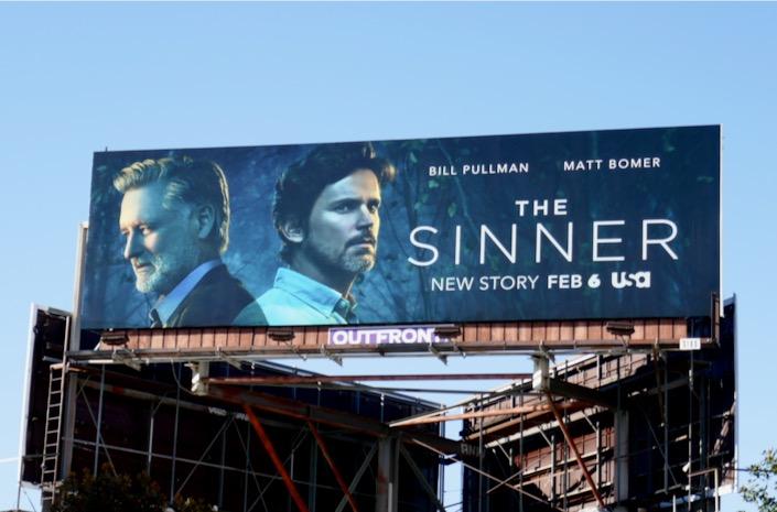 The Sinner season 3 billboard