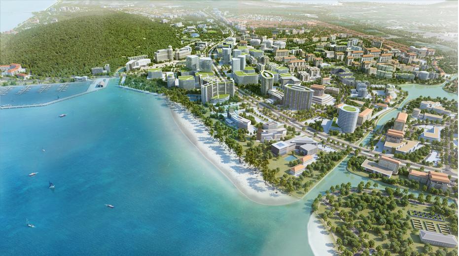 Mô hình đô thị đảo tại Phú Quốc