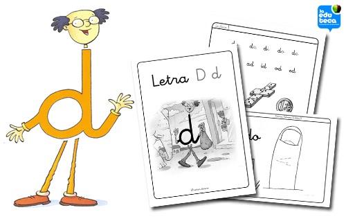 La Letra D D La Eduteca