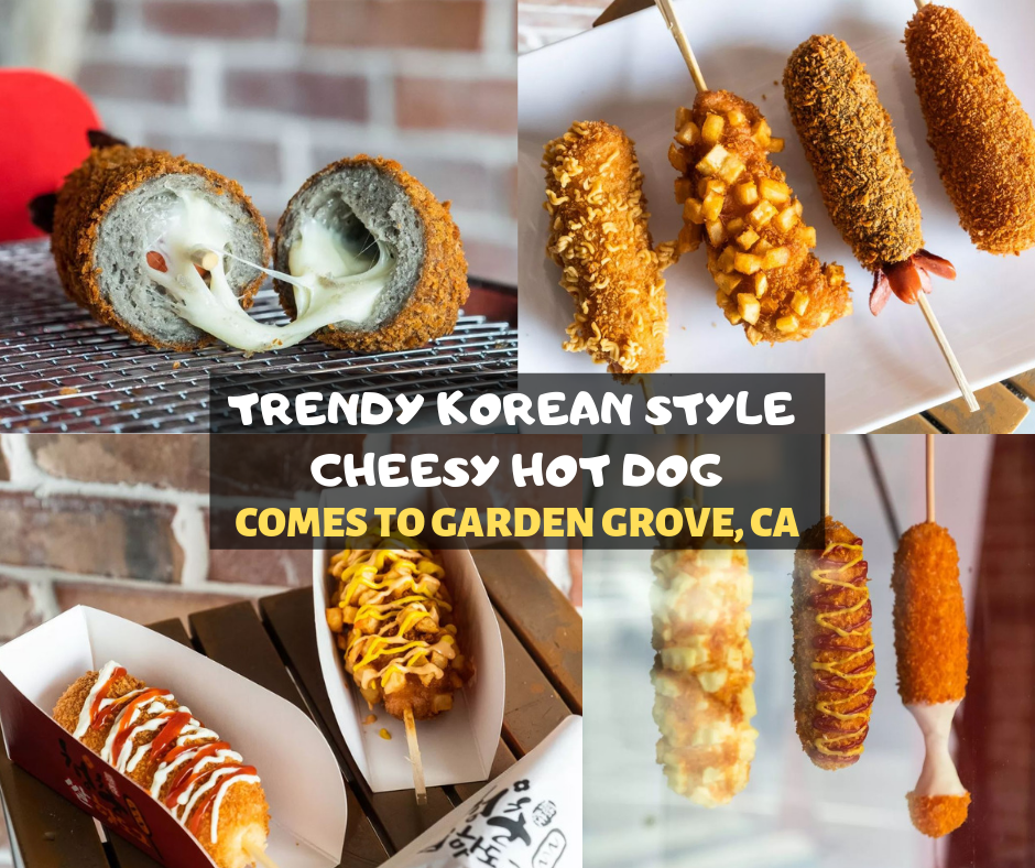 Aug 15 | Chung Chun Rice Dog Introduces Trendy Korean Style Hot Dog to Garden Grove