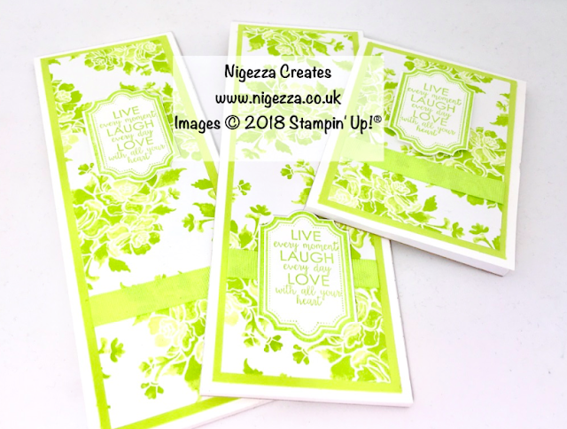 Stampin' Up!® Fresh Florals Covered Notebook