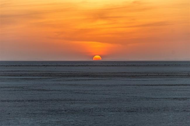 Sunset at Rann of Kutch