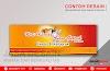 Contoh Desain Banner / Neon Box / Spanduk Ayam Geprek Minimalis | Desain Buku Menu Murah Berkualitas