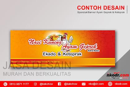 Cool Desain Banner Ayam Geprek