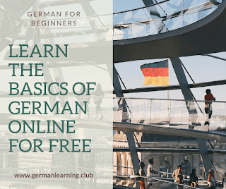 German for Beginners: Learn the basics of German online for free