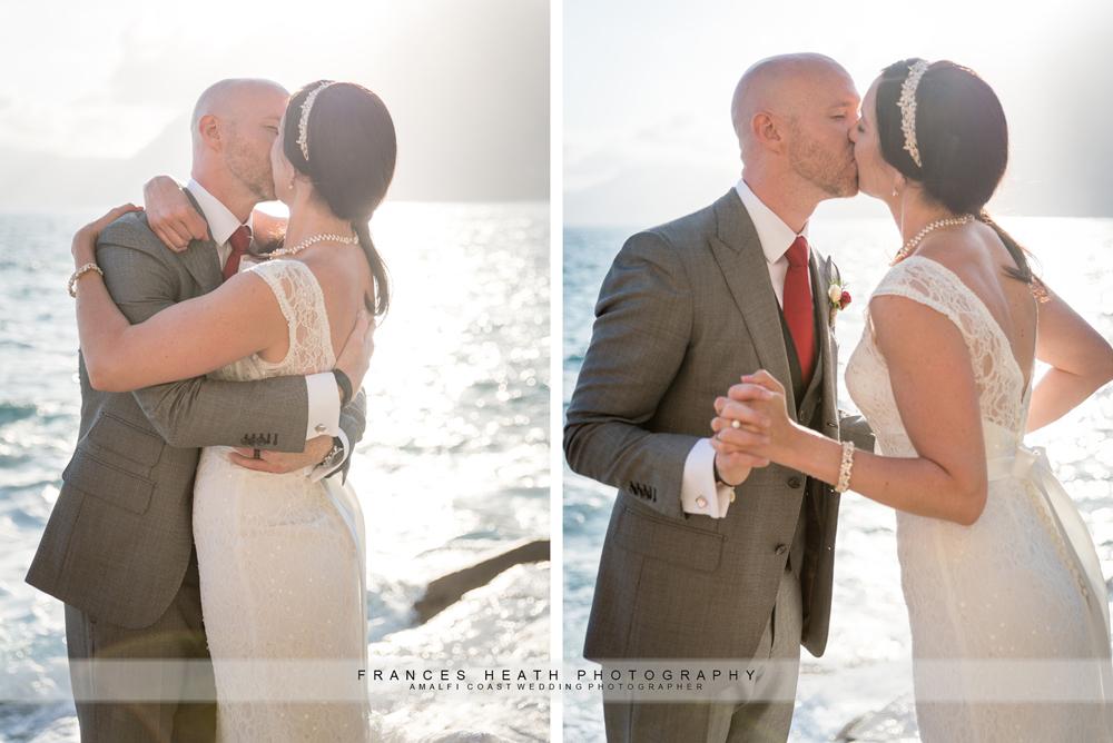 Romantic wedding on the Amalfi coast