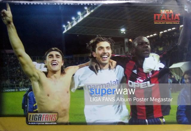 Cannavaro, Buffon & Thuram AC Parma