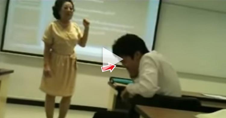 Hindi nakapagpigil yung Teacher sa ginawa nung Student