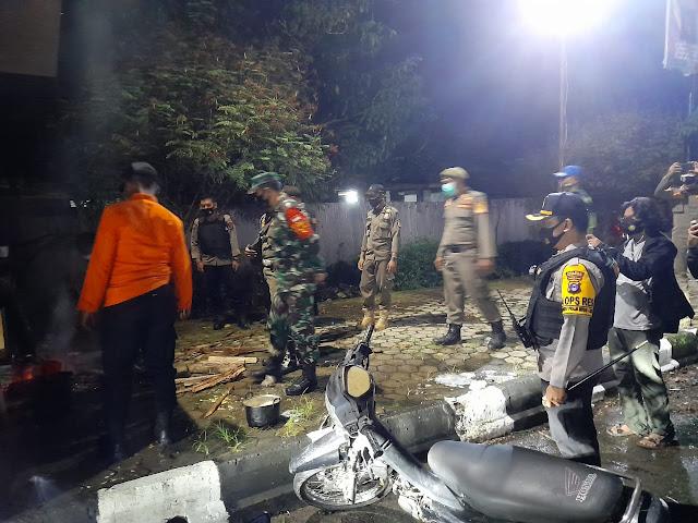 Kompak Dandim Barabai Dan Kapolres HST Patroli Bersama