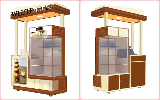 Booth Indoor-Booth Chesee Cake