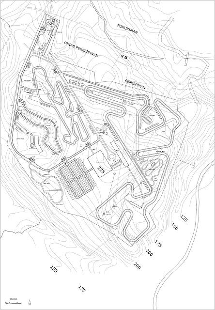 Site Plan Balap Mobil