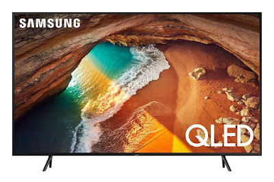 Samsung QN55Q60RAFXZA Flat 55-Inch QLED 4K Q60 Series Ultra HD Smart TV