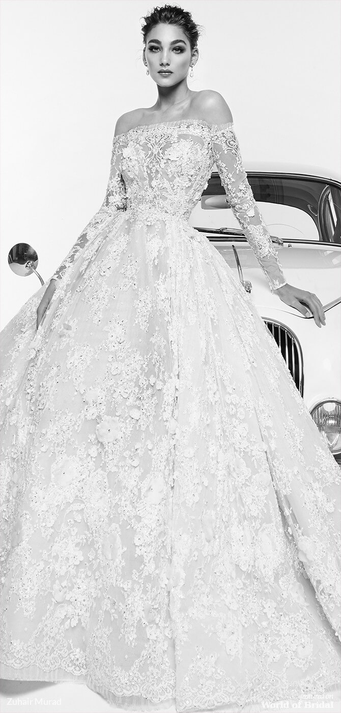 1ce5c15cce70b Zuhair Murad Spring 2019 Wedding Dresses - World of Bridal