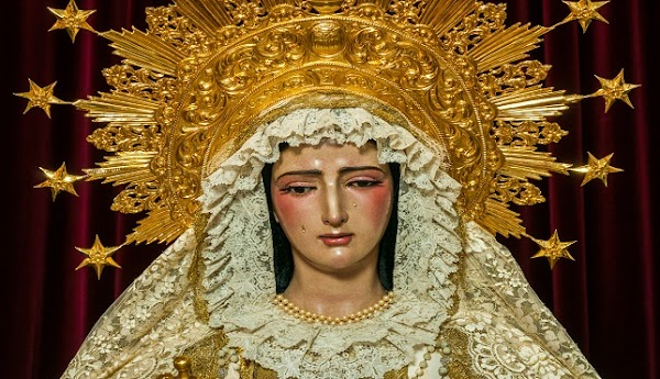 Horario e Itinerario Rosario de la Aurora Virgen de las Mercedes (Hdad de Santa Genoveva). Sevilla 26 de Septiembre del 2021