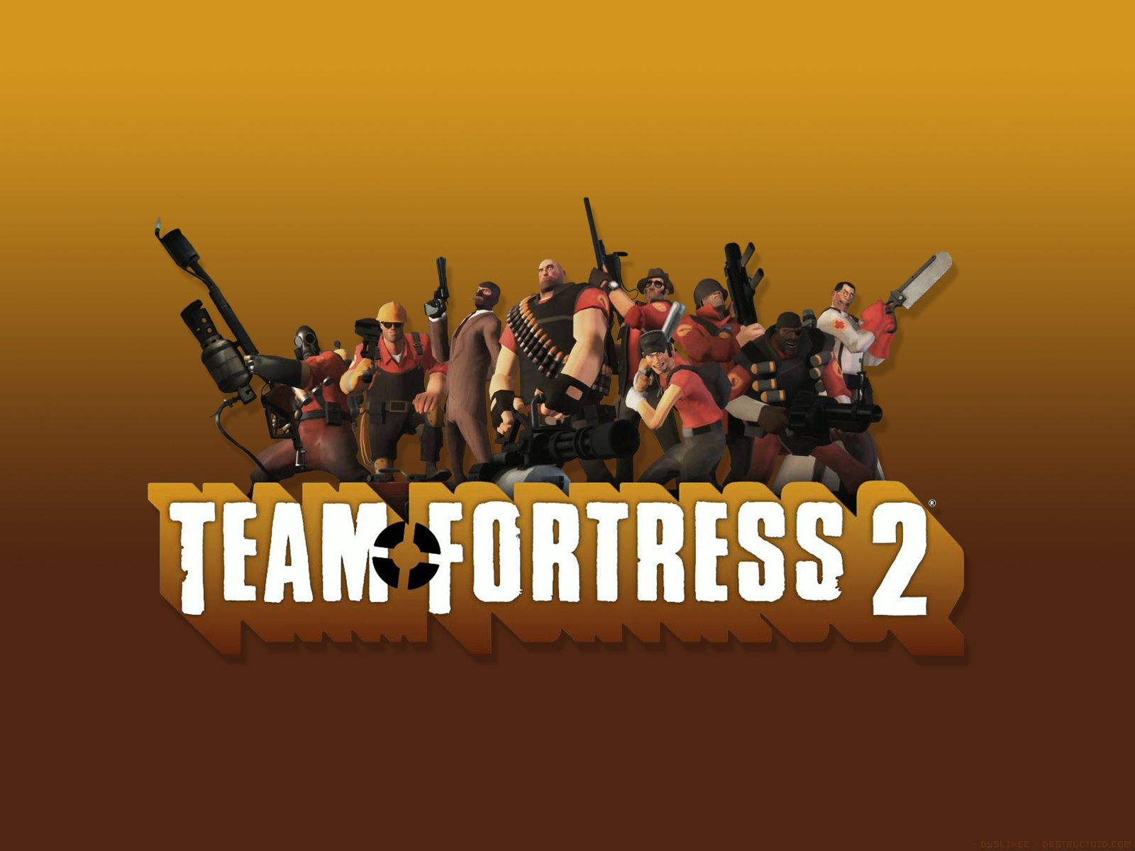 Team fortress 2 all characters hd wallpaper wallpapers - Tf2 logo wallpaper ...