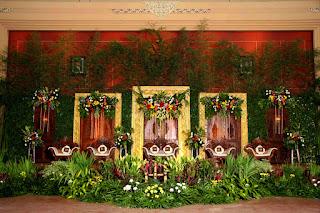 Dekorasi Pernikahan Jawa