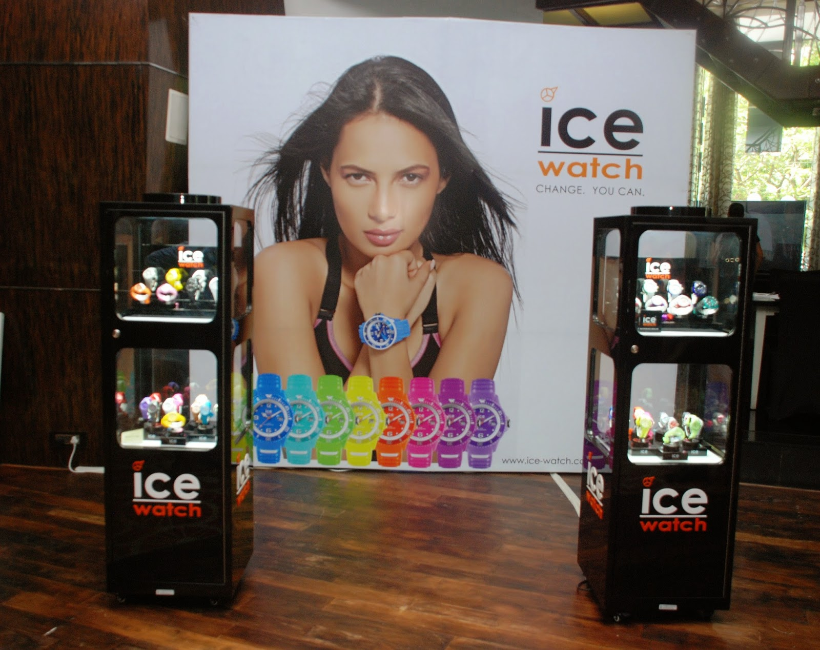 Ice Watches Display at Couture & Canvas Brunch at Sofitel,BKC