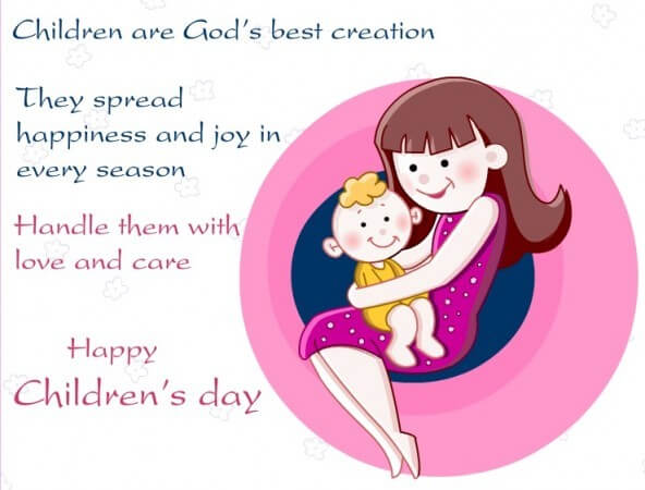 Children's day Message for my Daughter