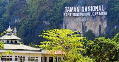 Berwisata di tempat Taman Nasional Bantimurung