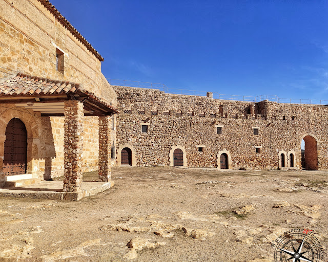 Interior del Castillo de Peñarroya