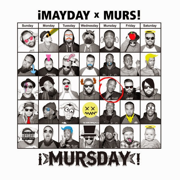 ¡MAYDAY! & Murs - Mursday (Deluxe Edition) Cover