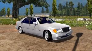 Mercedes S600 W140 V1 car mod