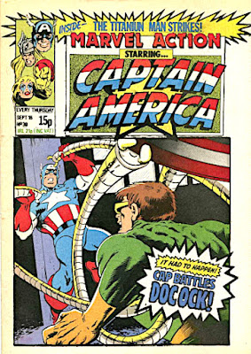 Marvel Action starring Captain America #30, Dr Octopus