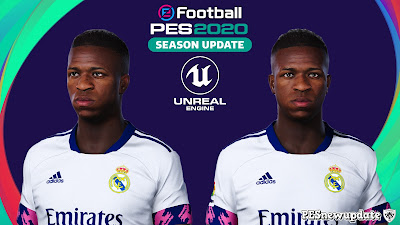PES 2020 Faces Vinícius Júnior by Lucas