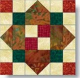 Nine Patch Square - Variation quilt block