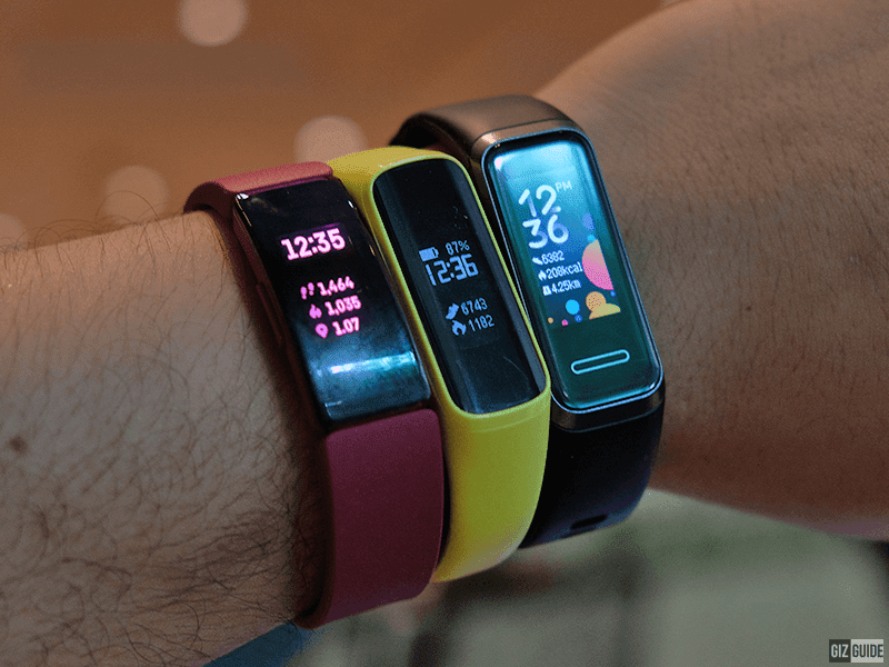 Huawei Band 4 vs Samsung Galaxy Fit e vs Fitbit Inspire - Wearable face off