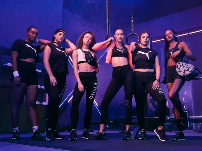 Model Adriana Lima appears in PUMA Zone XT campaign