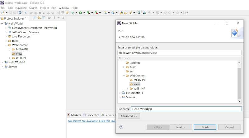 Naming JSP File