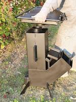 cocina de hierro a leña