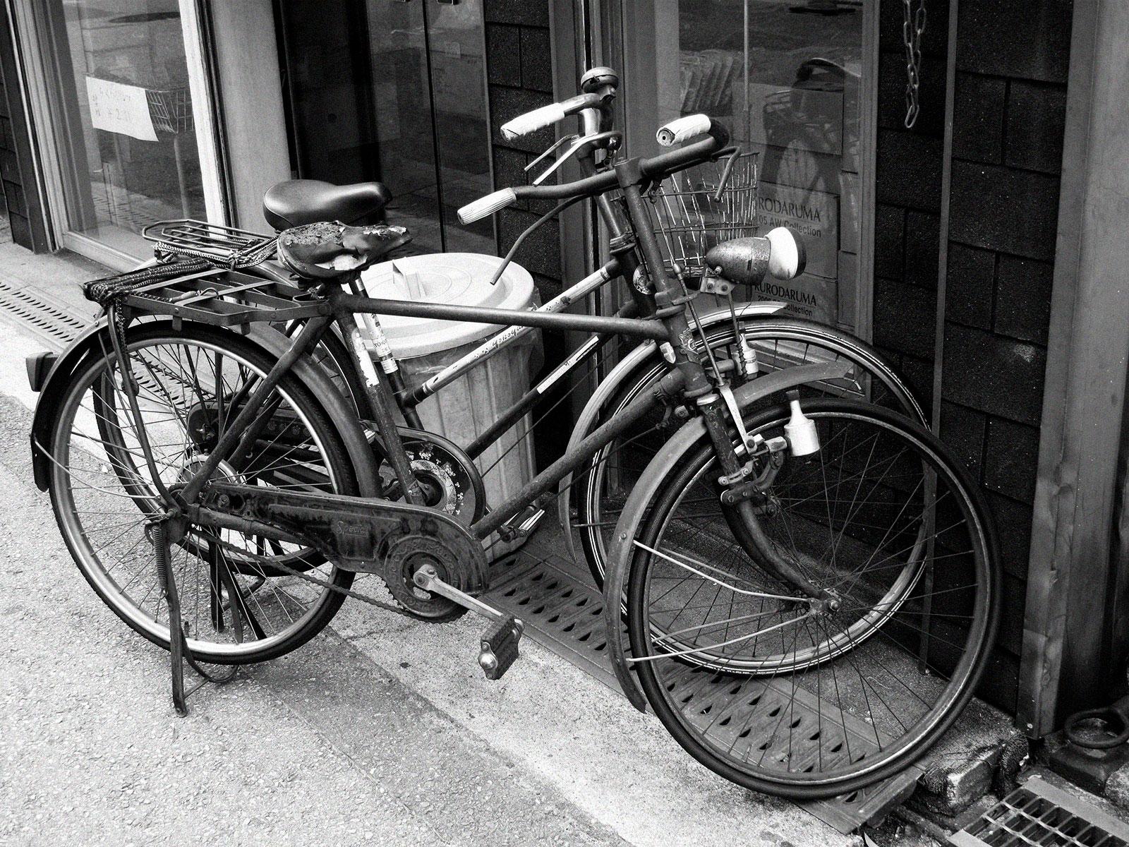 никогда японские велосипеды старые фото известно