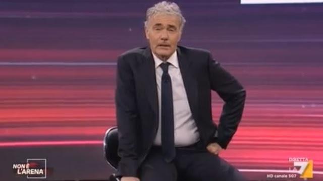 Buongiornolink - Malore per Massimo Giletti durante la diretta del programma 'Non è l'Arena'