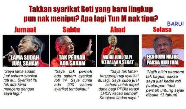 PRU14: Mahathir cakap berbelit mengenai syarikat roti The Loaf (update!)