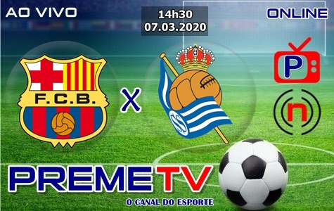 Barcelona x Real Sociedad Ao Vivo