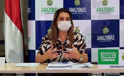 Secretária da Saúde do Amazonas é presa pela Polícia Federal