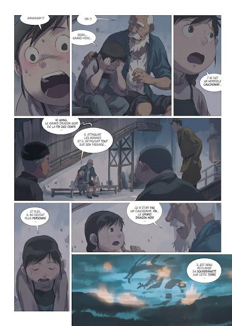 Yin et le dragon tome 3 nos dragons éphémères Rue de Sèvres page 4