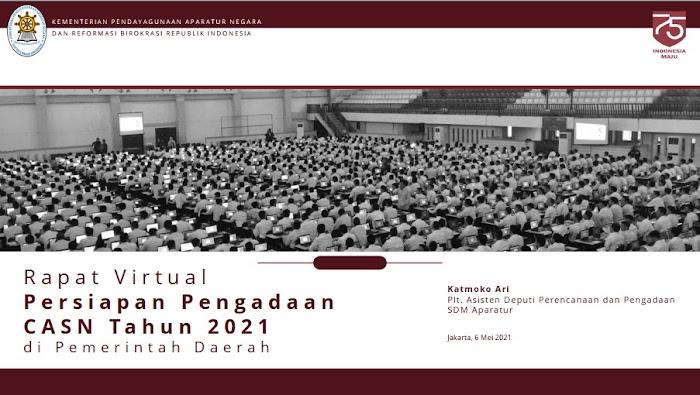 Formasi, Jadwal, Ketentuan dan Tahapan Seleksi PPPK dan CPNS Tahun 2021