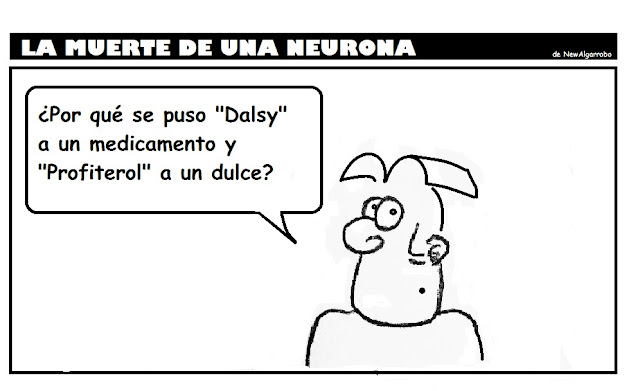 Dalsy, profiterol, humor