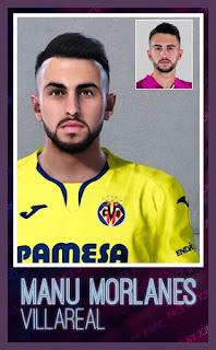 PES 2020 Faces Manu Morlanes by Jovic