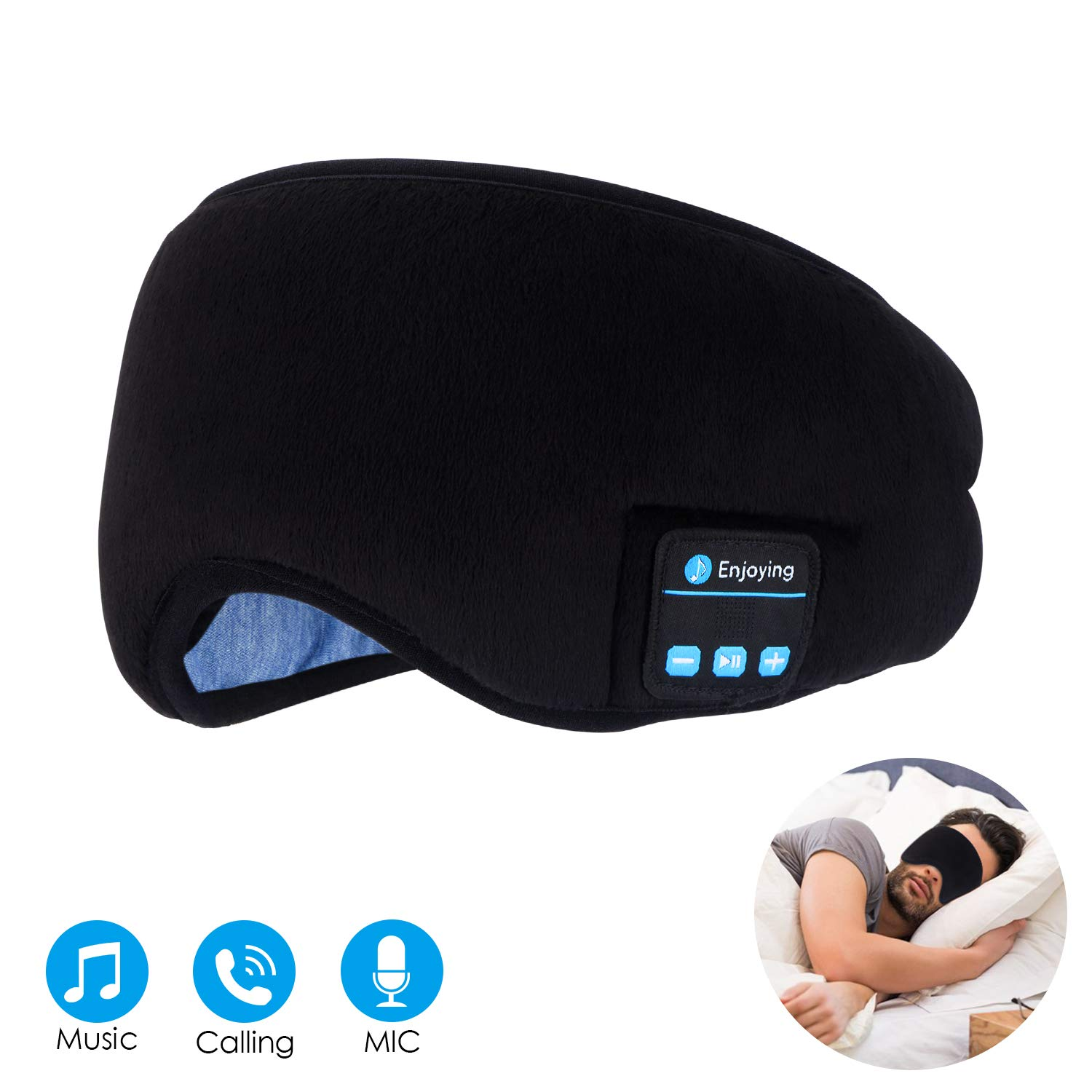 Sleep Headphones and Sleep Mask 2 in 1