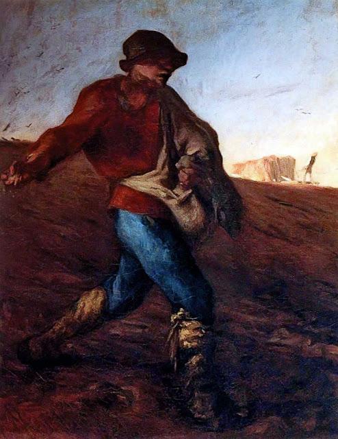 Жан Франсуа Милле - Сеятель. 1850