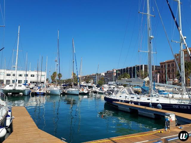 Marina with boats, Cagliari | Sardinia, Italy | wayamaya